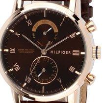 Tommy Hilfiger Steel 44mm Quartz 1710400 new