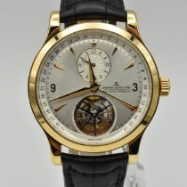 Jaeger-LeCoultre Master Tourbillon Rose gold 42mm Silver No numerals United States of America, Texas, Houston