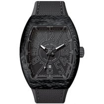 Franck Muller Carbon Automatic Black Arabic numerals 45mm new Vanguard