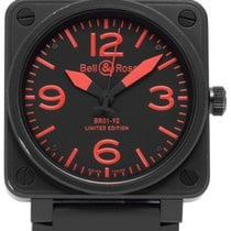 Bell & Ross BR 01-92 BR01-92-S 2009 pre-owned