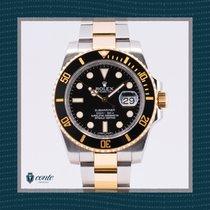 Rolex Submariner Date 116613LN Muy bueno Acero y oro 40mm Automático