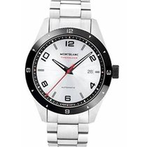 Montblanc new Automatic Central seconds Luminous numerals Luminous hands Rotating Bezel Luminous indices 40mm Steel Sapphire crystal