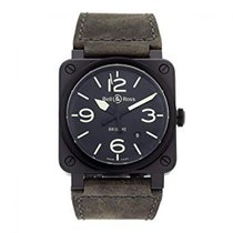 Bell & Ross BR 03-92 Ceramic BR0392BL3CE/SCA new