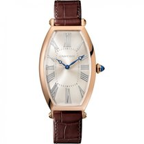 Cartier Tonneau Rose gold 46.3mm Silver United States of America, Florida, Miami