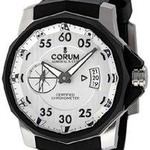 Corum Admiral's Cup Challenger nuevo Automático Cronógrafo Reloj con estuche y documentos originales