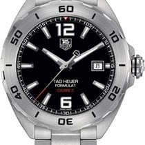 TAG Heuer Formula 1 Calibre 5 Steel Black United States of America, New York, Brooklyn