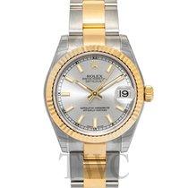 Rolex Lady-Datejust Zuto zlato 31mm Srebro
