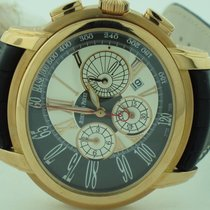 Audemars Piguet Millenary Chronograph Rose gold 47mm Silver Roman numerals United States of America, New York, Greenvale