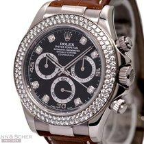 Rolex Daytona Cosmograph Ref-116589 18k White Gold Diamond...