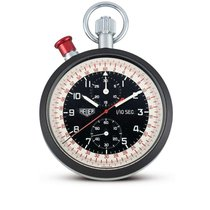 Heuer | A Stainless Steel And Aluminium Mono-pusher Split-seco...