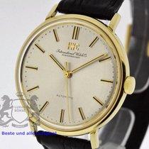 IWC Vintage 18K Gold Men's Watch Cal. 854 Ref. 1818