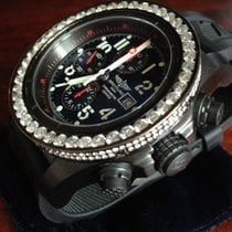Breitling Super Avenger Chronometer / Brillants 8,5ct.
