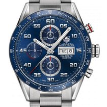 TAG Heuer Carrera Calibre 16 Steel 43mm Blue United Kingdom, London