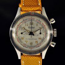 Gallet Acier 38mm Remontage manuel occasion France, Paris