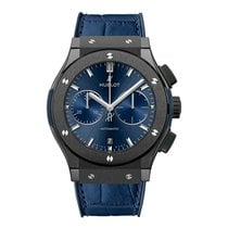 Hublot 521.CM.7170.LR Ceramic 2019 Classic Fusion Blue 45mm new United States of America, New York, New York