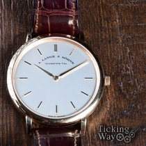 A. Lange & Söhne Saxonia Rose gold 40mm No numerals United States of America, California, Irvine