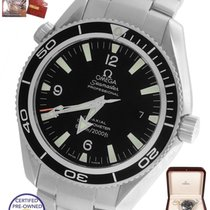 Omega MINT Omega Seamaster Planet Ocean Black 42mm Co-Axial...