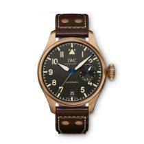 IWC Big Pilot Bronze 46.2mm Black Arabic numerals United States of America, New York, New York