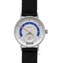 NOMOS Autobahn 41.0mm Silver United States of America, California, San Mateo