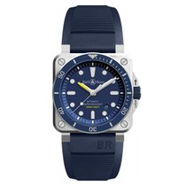 Bell & Ross Steel 42mm Automatic BR 03 new