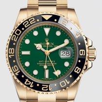 Rolex 116718LN Κίτρινο χρυσό GMT-Master II 40mm