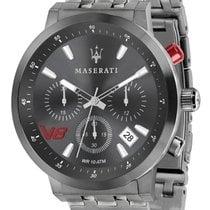 Maserati Steel 44mm Quartz R8873134001 new