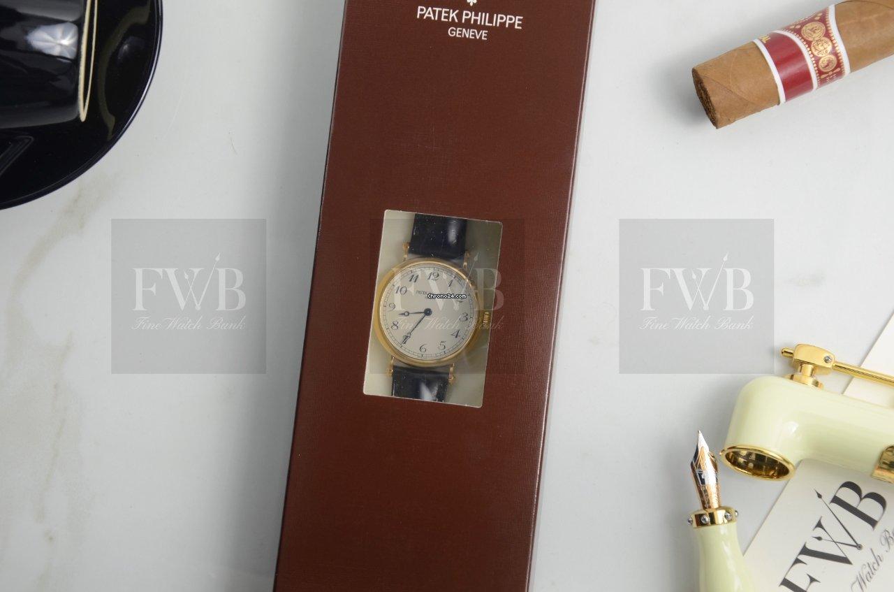 Patek Philippe Calatrava London Limited Edition 7200R-010 sælges for 369.885 kr af en Trusted ...