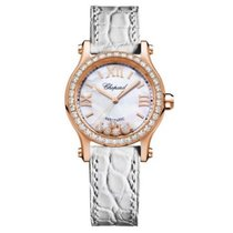 Chopard 274893-5010 Rose gold Happy Sport 30mm new