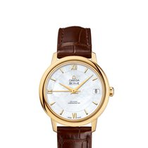 Omega Yellow gold Automatic new De Ville Prestige