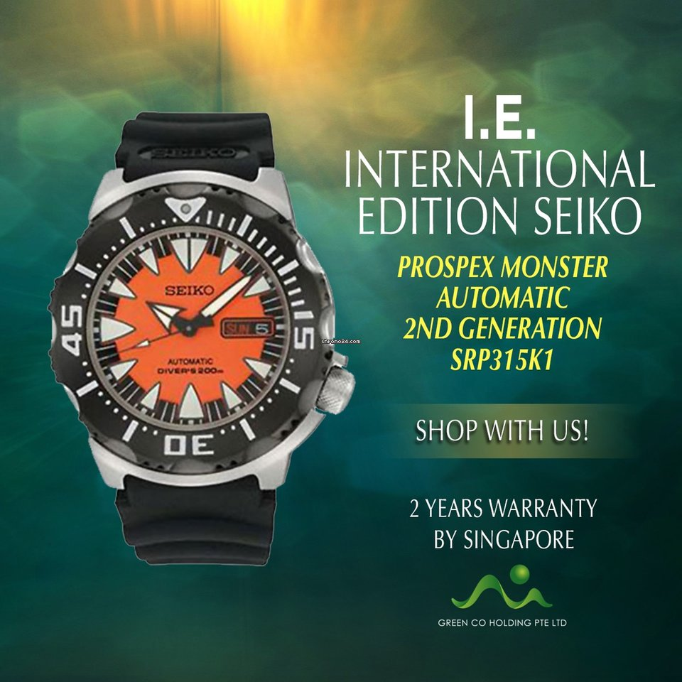 Seiko Prospex SRP315K1 новые