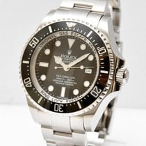Rolex Sea-Dweller Deepsea Staal 44mm Zwart