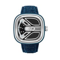 Sevenfriday M1 Steel 47,6mm Black No numerals