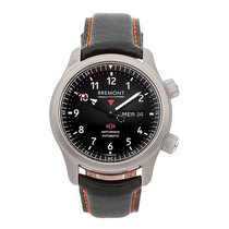 Bremont Steel 43mm Automatic MBII-BK/OR/R pre-owned