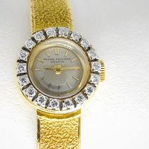 Patek Philippe Vintage 3267 / 73 braceletwatch 3267/73 manual 13,5 13.5 with papers God Gult guld 15mm Manuelt