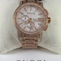 Gucci G-Chrono Stal 44mm Biały
