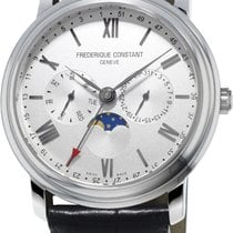 Frederique Constant Classics Business Timer Steel