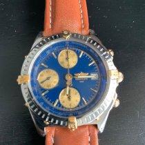 Breitling Chronomat Ouro/Aço 39mm Azul Brasil, Salvador