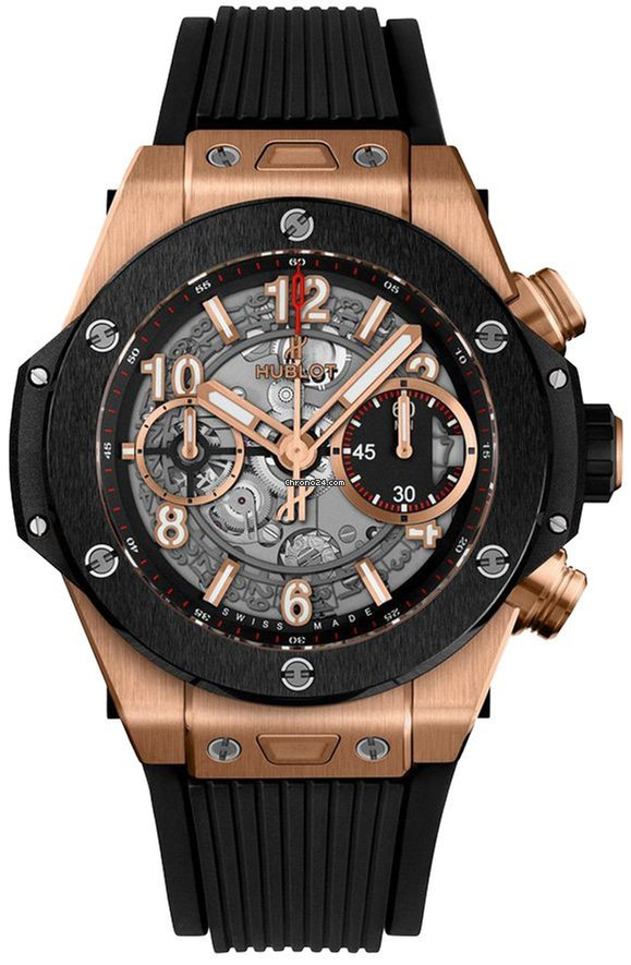 cheap for discount d5ff0 f2d27 Hublot Big Bang Unico King Gold Ceramic 42mm Automatic Chronograph