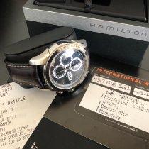 Hamilton Jazzmaster Auto Chrono Steel 46mm Black United Kingdom, Blackpool