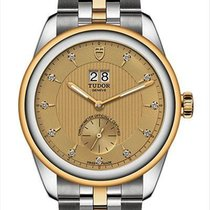 Tudor Glamour Double Date 57103-0006 new