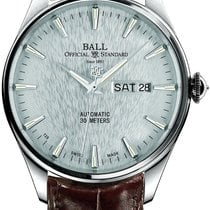 Ball Trainmaster Eternity Steel 39,5mm Silver