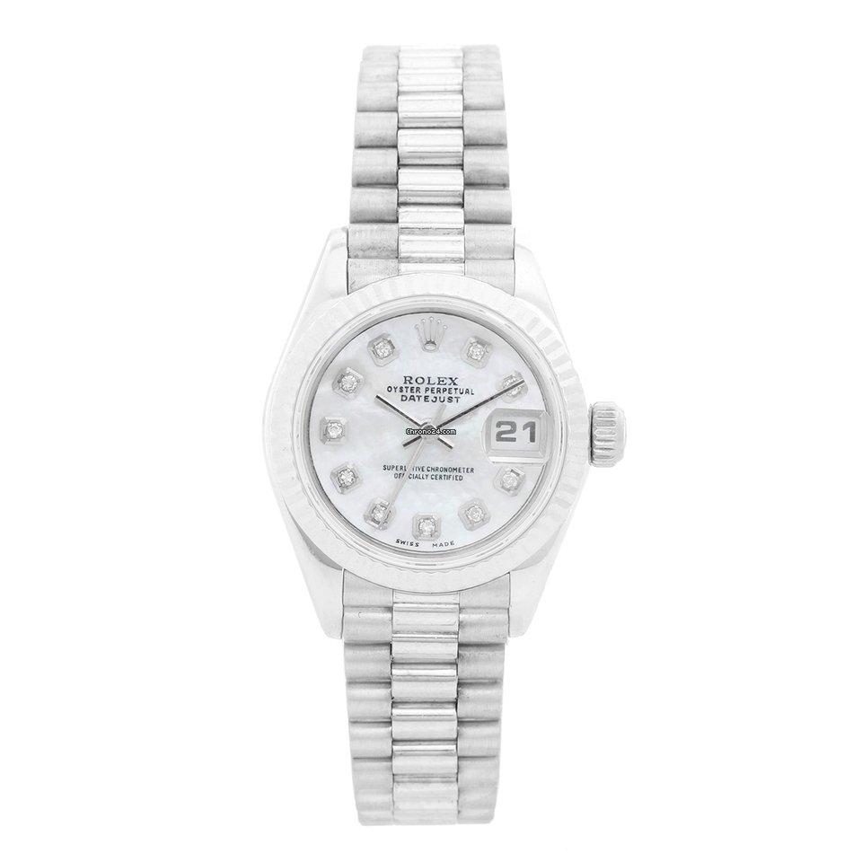 Rolex Ladies Datejust 69139 President Bracelet