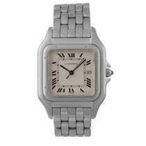 Cartier Panthère Steel 32mm Roman numerals United Kingdom, London