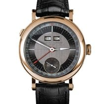 Laurent Ferrier Rose gold Manual winding Brown 40mm new