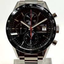 TAG Heuer Carrera Calibre 16 Steel 41mm Black No numerals United States of America, California, Cerritos