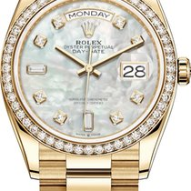 Rolex Day-Date 36 Yellow gold 36mm Mother of pearl United States of America, New York, Airmont