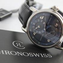 Chronoswiss Régulateur Steel 40mm Blue