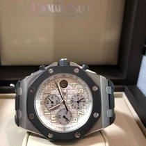 Audemars Piguet Royal Oak Offshore Chronograph Acciaio 42mm Bianco Arabo Italia, ROMA