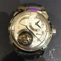 Grönefeld Steel 43mm Manual winding Parlallax Tourbillon 1912 new
