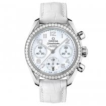 Omega Speedmaster Ladies Chronograph Steel 38mm Mother of pearl Arabic numerals United States of America, Florida, Miami